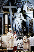 Pope Francis leads the Epiphany Mass