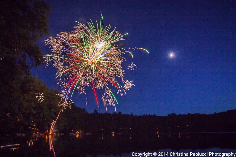 Fourth of July 2014 at Lake Petonia in Greene, NY. (Christina Paolucci, photography).