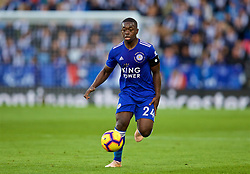 LEICESTER, ENGLAND - Saturday, November 10, 2018: Leicester City's Nampalys Mendy during the FA Premier League match between Leicester City FC and Burnley FC at the King Power Stadium. (Pic by David Rawcliffe/Propaganda)