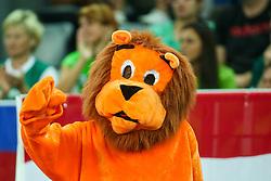 08-09-2015 CRO: FIBA Europe Eurobasket 2015 Slovenie - Nederland, Zagreb<br /> De Nederlandse basketballers hebben de kans om doorgang naar de knockoutfase op het EK basketbal te bereiken laten liggen. In een spannende wedstrijd werd nipt verloren van Slovenië: 81-74 / Lions from Netherlands. Photo by Matic Klansek Velej / RHF