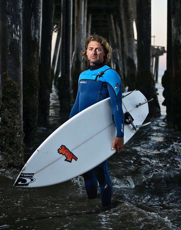 "John Hunter, product designer for O'Neill Wetsuits. Santa Cruz, CA | ""Cold Water Souls"""