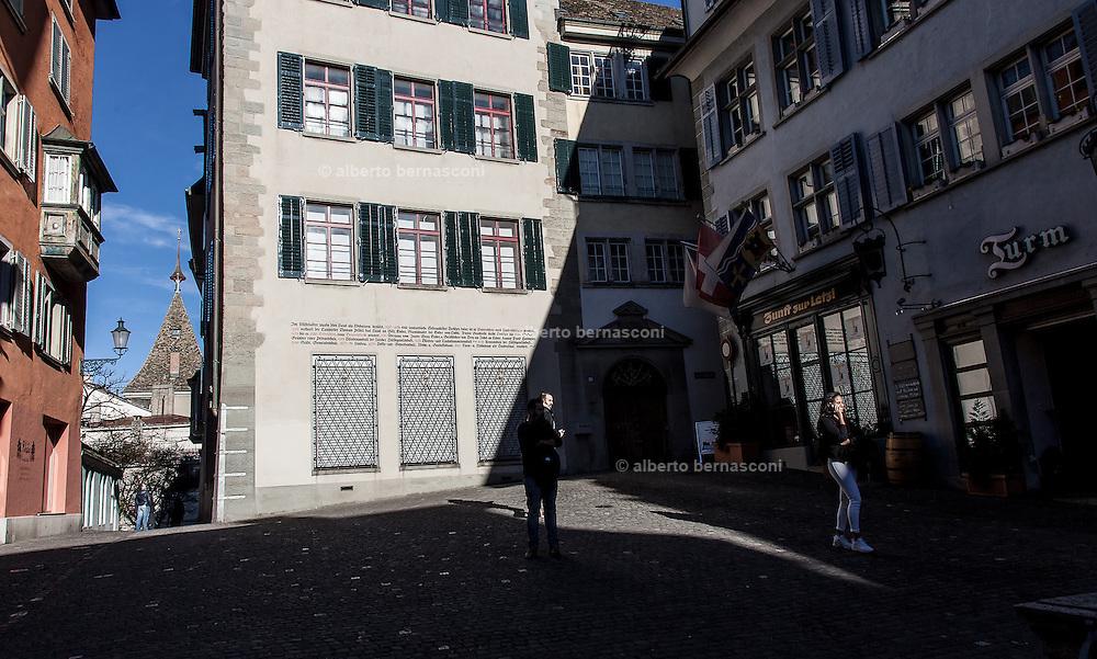 Switzerland, Zurich: Spiegelgasse