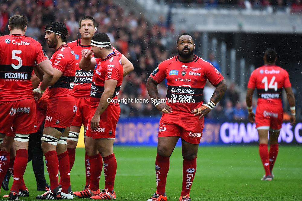 Equipe Toulon - Mathieu Bastareaud - 19.04.2015 - Toulon / Leinster - 1/2Finale European Champions Cup -Marseille<br /> Photo : Andre Delon / Icon Sport