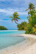 One Foot Island, Aitutaki, Cook Islands,  Polynesia, South Pacific
