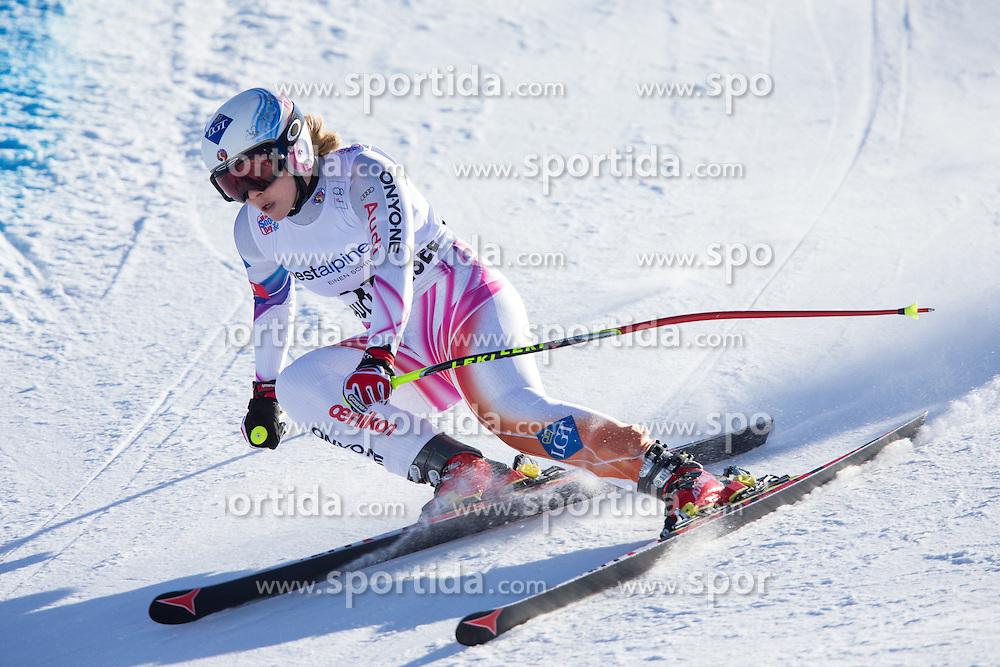 11.01.2014, Kalberloch, Zauchensee, AUT, FIS Ski Weltcup, Abfahrt, Damen, Bewerb, im Bild Tina Weirather (LIE) // Tina Weirather of Lichtenstein in action during ladies downhill of the Altenmarkt Zauchnesee FIS Ski Alpine World Cup at the Kaelberloch course in Zauchensee, Austria on 2014/01/11. EXPA Pictures © 2014, PhotoCredit: EXPA/ Johann Groder