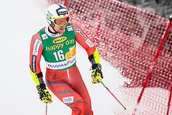 Aleksander Aamodt Kilde of Norway during 1st run of Men's GiantSlalom race of FIS Alpine Ski World Cup 57th Vitranc Cup 2018, on March 3, 2018 in Kranjska Gora, Slovenia. Photo by Ziga Zupan / Sportida