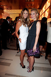 Left to right, ELLE MACPHERSON and GWYNETH PALTROW at a party to celebrate the opening of the Louis Vuitton Bond Street Maison, New Bond Street, London on 25th May 2010.