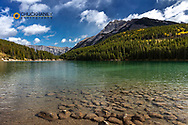 Two Jack Lake in Banff National Park, Canada