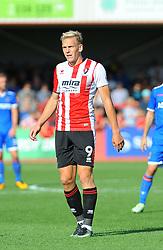 Danny Wright of Cheltenham Town- Mandatory by-line: Nizaam Jones/JMP - 02/09/2017 - FOOTBALL - LCI Rail Stadium - Cheltenham, England - Cheltenham Town v Stevenage- Sky Bet League Two
