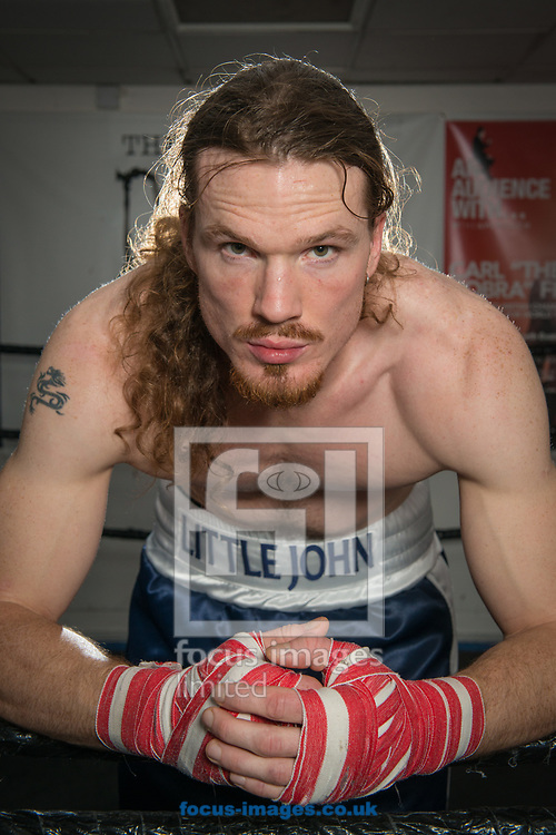 A portrait of bareknuckle boxer Pete Radford at Fit II Fight, Ilkeston<br /> Picture by Matt Wilkinson/Focus Images Ltd 07814 960751<br /> 24/10/2017