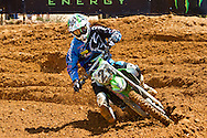 Agueda, Portugal, 5th May 2013, World Championship MX1, French Gautier Paulin with a Kawasaki win  race 1 and was 2nd in race 2