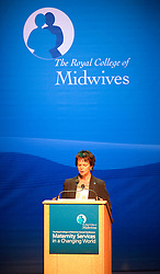 © under license to London News Pictures. 17/11/2010. Health Minister Anne Milton MP delivers a speech to an audience of Midwives, at The Royal College of Midwives' conference, in Manchester