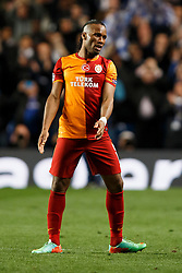 Galatasaray Forward Didier Drogba (CIV) leaves the pitch after his sides 0-2 loss - Photo mandatory by-line: Rogan Thomson/JMP - 18/03/2014 - SPORT - FOOTBALL - Stamford Bridge, London - Chelsea v Galatasaray - UEFA Champions League Round of 16 Second leg.
