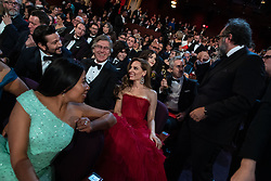 Oscar® nominees Yalitza Aparicio and Marina de Tavira  during the live ABC Telecast of The 91st Oscars® at the Dolby® Theatre in Hollywood, CA on Sunday, February 24, 2019.