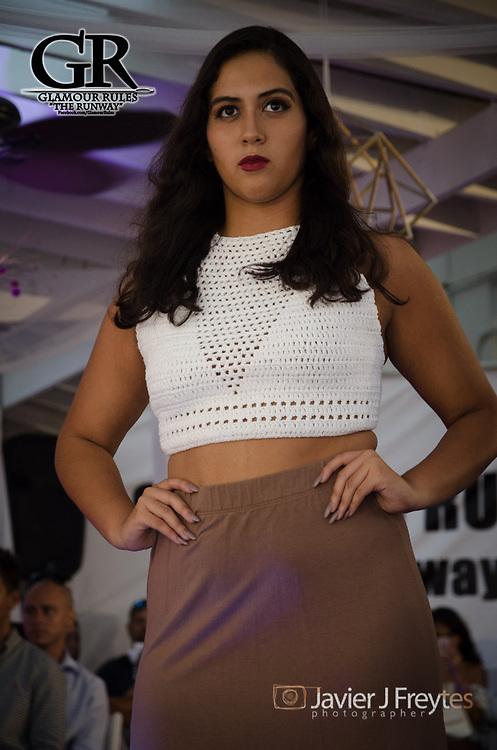 20170730- San Juan, Puerto Rico- Desfile de Moda: Glamour Rules - The Runway en el hotel Hosteria Del Mar en Ocean Park, San Juan, Puerto Rico. Collecion de: Crochet by Talia.