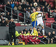 FOOTBALL: Daniel Holzer (FC Zlin) and Peter Ankersen (FC København) during the UEFA Europa League Group F match between FC København and FC Zlin at Parken Stadium, Copenhagen, Denmark on November 2, 2017. Photo: Claus Birch
