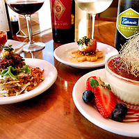 Delicious wine and food from Sultan Mediterranean Cuisine in Corpus Christi, Texas