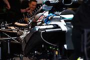 October 23-25, 2015: United States GP 2015: Mercedes engine detail