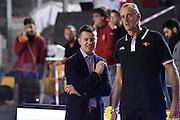 Simone Giofr&egrave; Riccardo Esposito<br /> Unicusano Roma - Benacquista Assicurazioni Latina<br /> Campionato Basket LNP 2016/2017<br /> Roma 06/11/2016<br /> Foto Ciamillo-Castoria