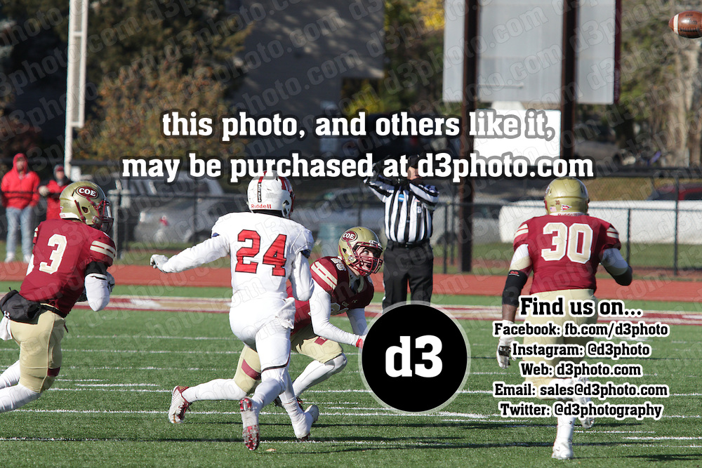 Coe College defeated Monmouth (Ill.)  21-14 in NCAA Division III playoff action in Cedar Rapids, Iowa, on November 19, 2016.