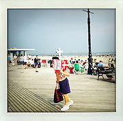 Coney Island, Brooklyn, New York..From the series Fake Polaroids.http://www.stefanfalke.com/.© Stefan Falke