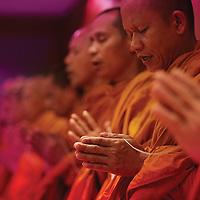 Monks at Outrigger Phuket, Thailand