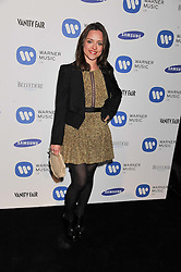 ZOE TAPPER at the Warner Music Group Post Brit Awards Party in Association with Samsung held at The Savoy, London on 20th February 2013.