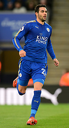 Vicente Iborra of Leicester City - Mandatory by-line: Alex James/JMP - 18/11/2017 - FOOTBALL - King Power Stadium - Leicester, England - Leicester City v Manchester City - Premier League
