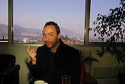 JIMMY WALES, FUNDADOR DE WIKIPEDIA. SANTIAGO, CHILE. 21-11-2008. (ALVARO DE LA FUENTE/TRIPLE.CL)
