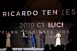 Ricardo Ten (ESP) at UCI Cycling Gala 2019 in Guilin, China on October 22, 2019. Photo by Sean Robinson/velofocus.com