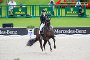Anna Kasprzak - Donnperignon<br /> FEI European Championships Aachen 2015<br /> © DigiShots