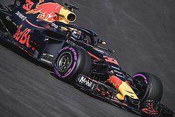 March 6, 2018 - Barcelona, Catalonia, Spain - MAX VERSTAPPEN (NED) drives in his Red Bull RB14 during day five of Formula One testing at Circuit de Catalunya (Credit Image: © Matthias Oesterle via ZUMA Wire)