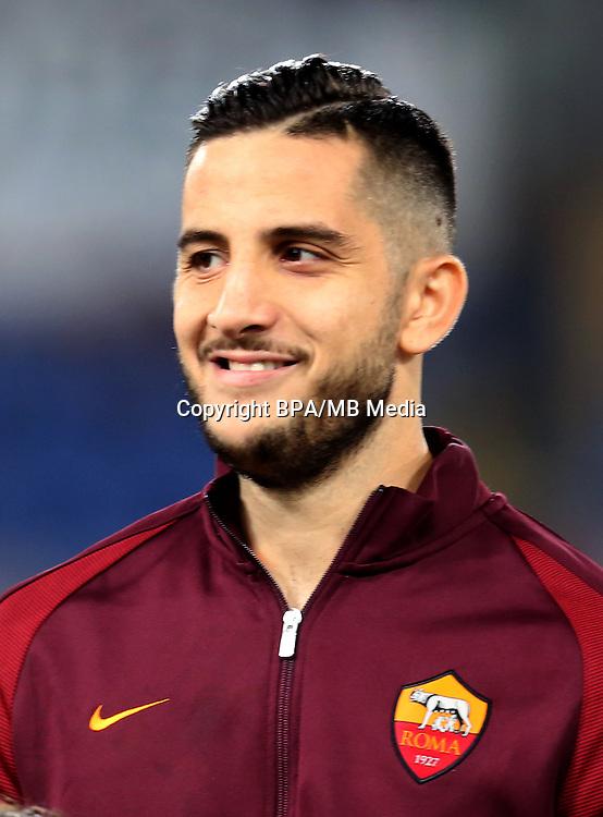 Italian League Serie A -2016-2017 / <br /> ( AS Roma ) - <br /> Konstantinos Manolas &quot; Kostas Manolas &quot;