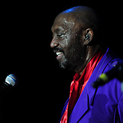 Otis Williams performing with The Temptations at The Music Hall in Portsmouth, NH