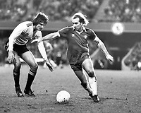 Fotball<br /> England<br /> Foto: Colorsport/Digitalsport<br /> NORWAY ONLY<br /> <br /> Chelsea historikk<br /> Clive Walker - Chelsea. 1976-83.