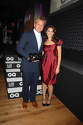 KELLY BROOK and GORDON RAMSAY at the 10th annual GQ Men of the Year Awards held at the Royal Opera House, Covent Garden, London on 4th September 2007.<br />