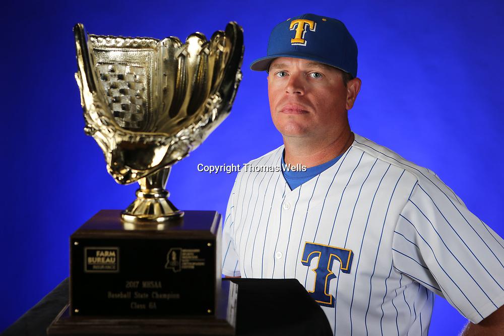 Tupelo Head baseball coach Justin Reed