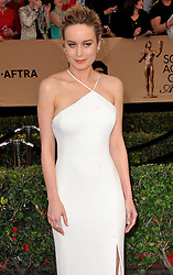 Brie Larson at the 23rd Annual Screen Actors Guild Awards held at the Shrine Expo Hall in Los Angeles, USA on January 29, 2017.