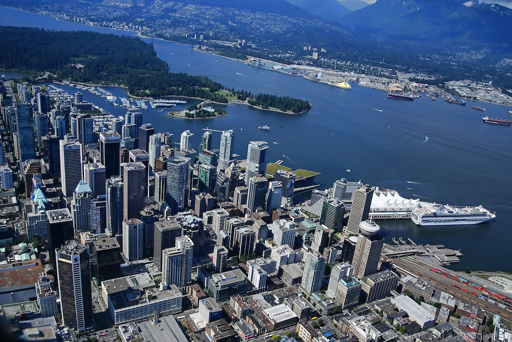 Aerial View, City of Vancouver (#1)