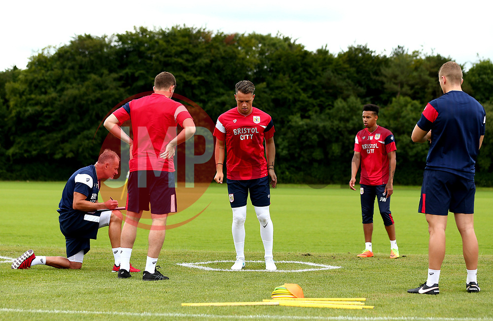 The Goalkeepers are put through their paces as Bristol City return to training ahead of their 2017/18 Sky Bet Championship campaign - Mandatory by-line: Robbie Stephenson/JMP - 30/06/2017 - FOOTBALL - Failand Training Ground - Bristol, United Kingdom - Bristol City Pre Season Training - Sky Bet Championship