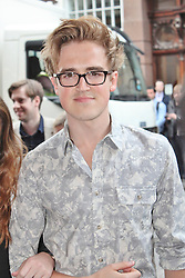 © London News Pictures. 18/06/2013. London, UK. Tom Fletcher  at The Cripple of Inishmaan - Press Night. Photo credit: Brett D. Cove/LNP