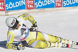 23.10.2011, Rettenbachferner, Soelden, AUT, FIS World Cup Ski Alpin, Herren, Riesenslalom, im Bild Kjetil Jansrud (NOR) // during Mens ginat Slalom at FIS Worldcup Ski Alpin at the Rettenbachferner in Solden on 23/10/2011. EXPA Pictures © 2011, PhotoCredit: EXPA/ Johann Groder