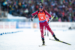 March 10, 2019 - –Stersund, Sweden - 190310 Andrejs Rastorgujevs of Latvia during the Men's 12,5 km Pursuit during the IBU World Championships Biathlon on March 10, 2019 in Östersund. 10, 2019 in Östersund..Photo: Johan Axelsson / BILDBYRÃ…N / Cop 245 (Credit Image: © Johan Axelsson/Bildbyran via ZUMA Press)