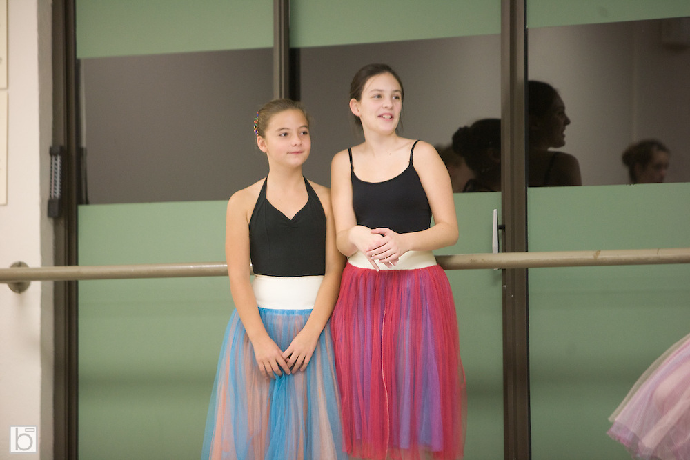 Rehearsal and behind the scenes photos of the North Country Ballet Ensemble's 2007 production of the Nutcracker.  (Photo/Todd Bissonette-www.rtbphoto.com)