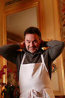 Bernard PACAUD ..Bernard Pacaud is the chef and owner of l'Ambroisie, the three star (Michelin) restaurant in the Place des Vosges, Paris