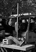 "Bruce MacCallum on the set of ""Ghost Town"" (Dir: David Koepp, 2008)"