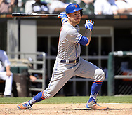 CHICAGO - AUGUST 01:  Todd Frazier #21 of the New York Mets bats against the Chicago White Sox August 1, 2019 at Guaranteed Rate Field in Chicago, Illinois.  (Photo by Ron Vesely)  Subject:   Todd Frazier