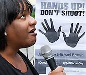 Michael Brown Rally London 27th August 2014
