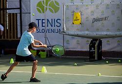 Kids Day during Day 7 at ATP Challenger Zavarovalnica Sava Slovenia Open 2018, on August 9, 2018 in Sports centre, Portoroz/Portorose, Slovenia. Photo by Vid Ponikvar / Sportida