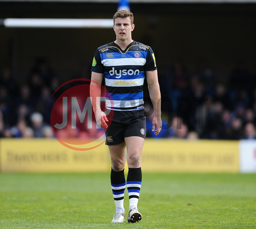 Ollie Devoto of Bath Rugby.  - Mandatory by-line: Alex Davidson/JMP - 23/04/2016 - RUGBY - Recreation Ground - Bath, England - Bath Rugby v Sale Sharks - Aviva Premiership